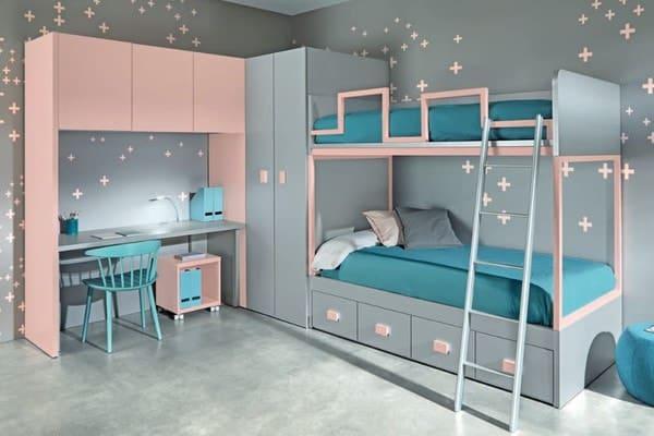 dormitorios juveniles litera
