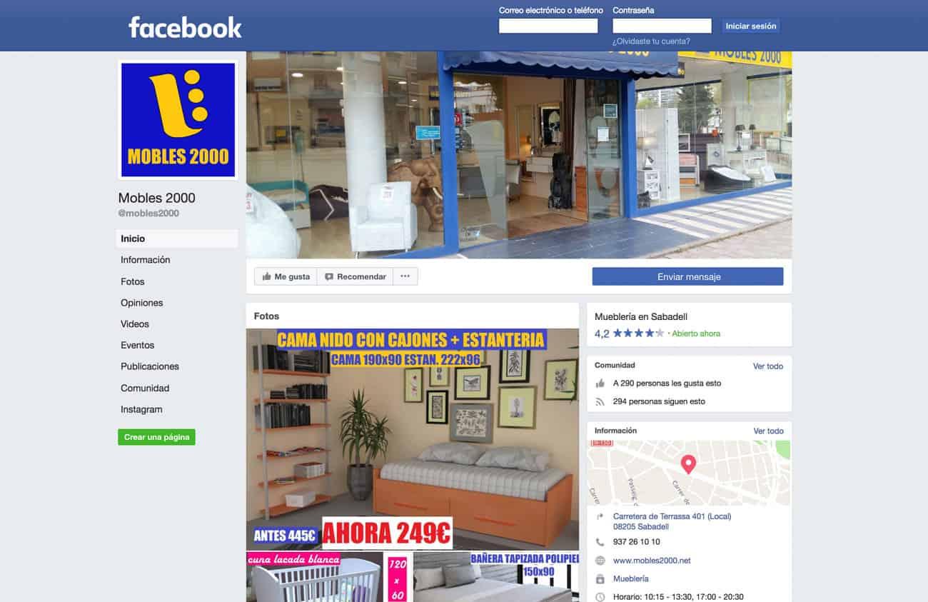 Visite Mobles 2000 En Facebook Mobles 2000 # Muebles Sabadell Liquidacion