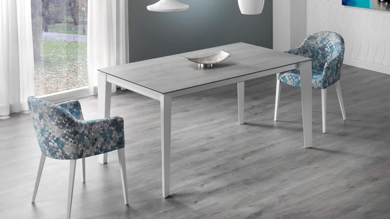 mesas y sillas porcelanico indesan geo