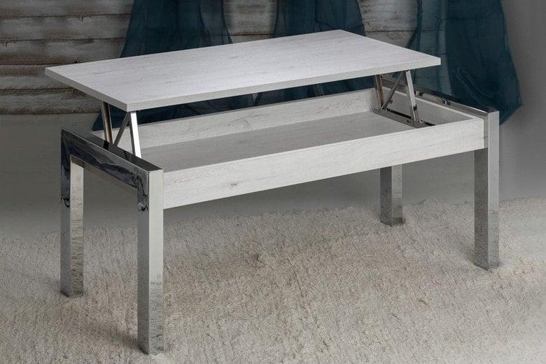 mesas y sillas metal