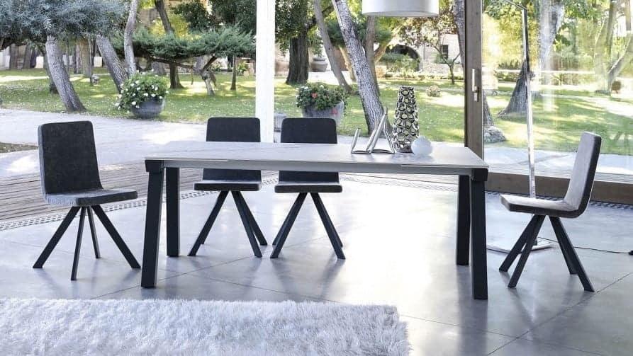 mesas y sillas pure nordic porcelanico