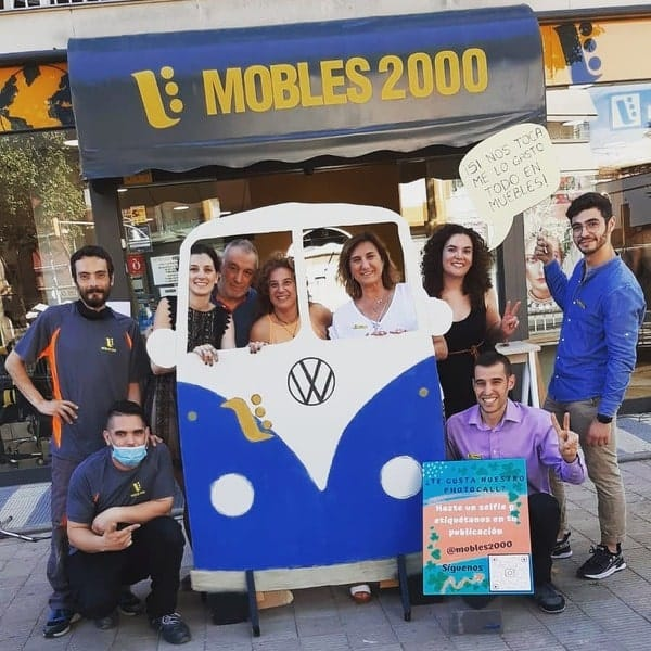 photocall Mobles 2000